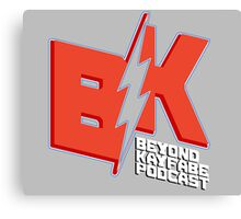 Beyond Kayfabe Podcast - THE NEW NEW BEYOND Canvas Print