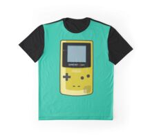 Game Boy Color Yellow Graphic T-Shirt