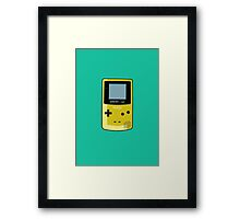Game Boy Color Yellow Framed Print