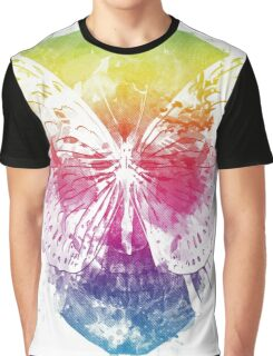 butterflyed skull Graphic T-Shirt