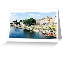 Richmond by the river Greeting Card