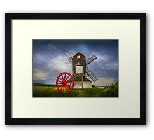 Tall And Mighty Framed Print
