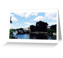 Richmond by the river 2 Greeting Card