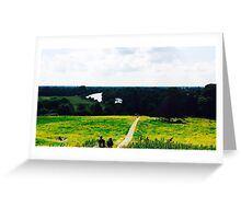 The view from Richmond Hill Greeting Card