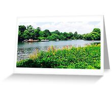River view 1 Greeting Card