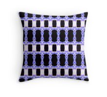 Square Blue Daffodil (VN.158) Throw Pillow