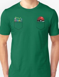 Pikmin and Pokeball in my pockets! Unisex T-Shirt