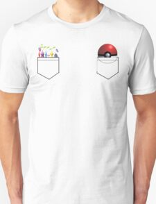 Pikmin and Pokeball in my pockets! T-Shirt
