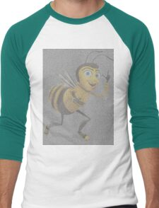 bee movie script Men's Baseball ¾ T-Shirt