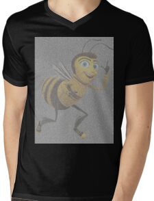 bee movie script Mens V-Neck T-Shirt