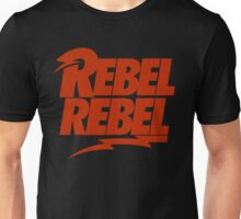Rebel Rebel Unisex T-Shirt