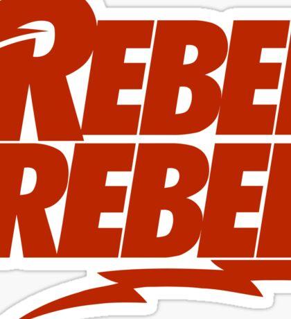 Rebel Rebel Sticker