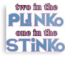 Two in the Plinko One in the Stinko - Price is Right Tosh.0 Metal Print