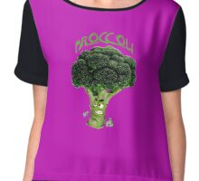 Broccoli Chiffon Top