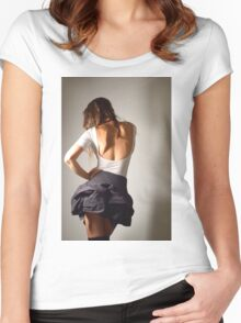 Colour me your colour Women's Fitted Scoop T-Shirt