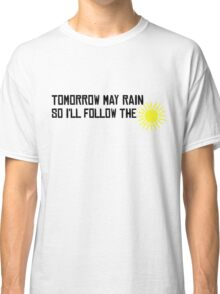I'll Follow The Sun The Beatles 60s Rock Music Song Lyrics Classic T-Shirt