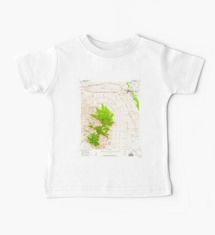 USGS TOPO Map Arizona AZ Benson 314362 1958 62500 Baby Tee