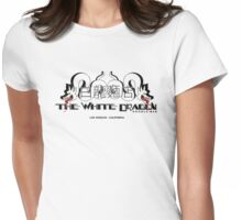White Dragon - Cantonese Noodle Bar Womens Fitted T-Shirt