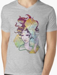Geode Lady Mens V-Neck T-Shirt