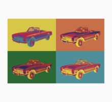 Mercedes Benz 280 SL Pop Art Kids Clothes