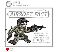 Airsoft Fact 1 Photographic Print