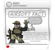 Airsoft Fact 2 Poster