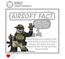 Airsoft Fact 2 Photographic Print