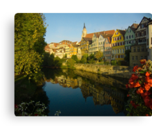 Postcard from Tübingen, Germany Canvas Print
