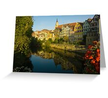 Postcard from Tübingen, Germany Greeting Card