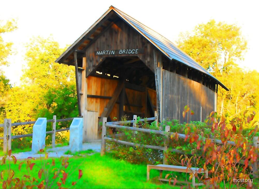 Martin Covered Bridge by Mary Carol Story