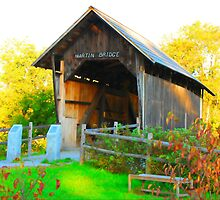 Martin Covered Bridge by Mary Carol Story