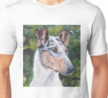 Smooth Collie Fine Art Painting Unisex T-Shirt
