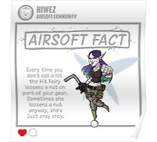 Airsoft Fact 3 Poster
