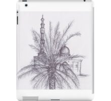 Arabian Landscape of a Mosque iPad Case/Skin