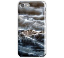 Storm Over The Rockies iPhone Case/Skin