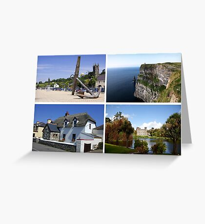 Images of Ireland Greeting Card