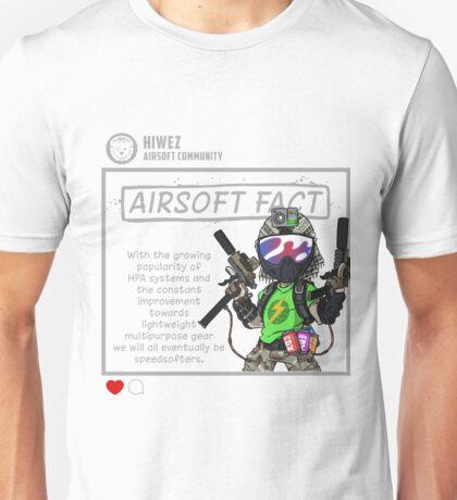 Airsoft Fact 4 Unisex T-Shirt