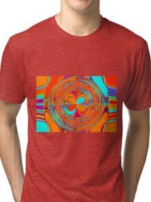 Retro pattern 2 Tri-blend T-Shirt