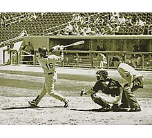 Swing Batter, Swing Photographic Print