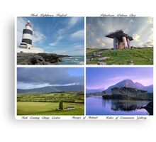 Images of Ireland Canvas Print