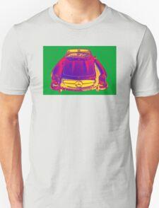 Mercedes Benz 300 SL Convertible Pop Art T-Shirt