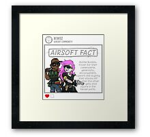 Airsoft Facts 6 Framed Print