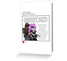 Airsoft Facts 6 Greeting Card