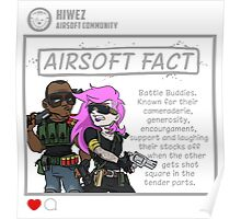 Airsoft Facts 6 Poster