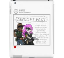 Airsoft Facts 6 iPad Case/Skin