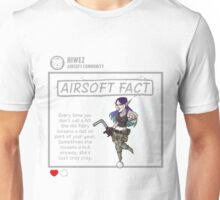 Airsoft Fact 3 Unisex T-Shirt
