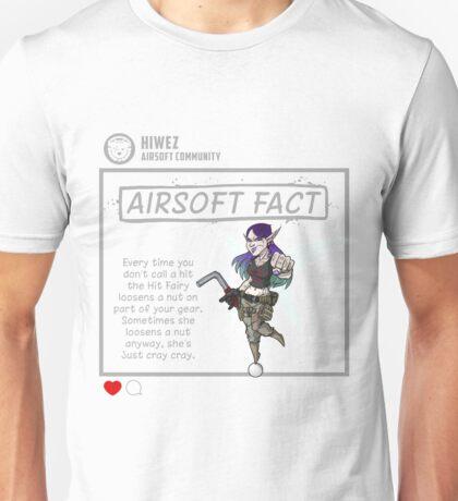 Airsoft Fact 3 Unisex T-Shirt