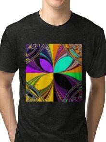 Retro pattern 3 Tri-blend T-Shirt