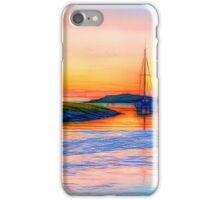Boats on the River Axe iPhone Case/Skin