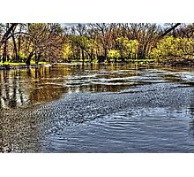 Fox River looking Downstream Photographic Print
